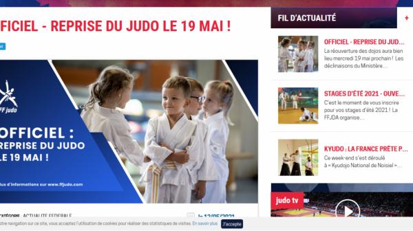 Reprises du Judo- 19 mai
